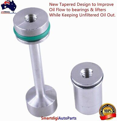AU19.99 • Buy LS Engine Billet Aluminum Oil Diverter Barbell For LS1 LS2 LS3 5.3 LQ9 LS4 LSA