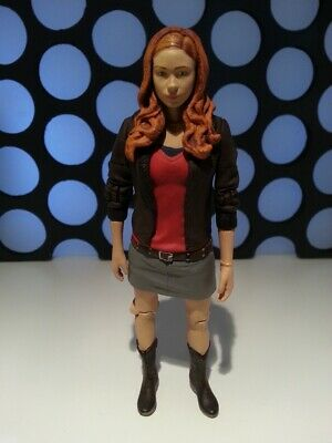 Doctor Who Amy Pond Mini Skirt Leather Jacket 11th Dr Companion 5  Figure Loose  • 8.99£