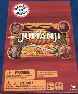 AU20 • Buy Jumanji Board Game Ready To Roll Small