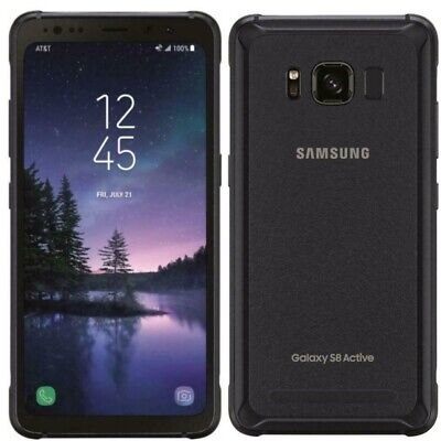 $ CDN125.92 • Buy Samsung Galaxy S8 Active-SM-G892A-64GB- AT&T Unlocked Smartphone Dot On LCD