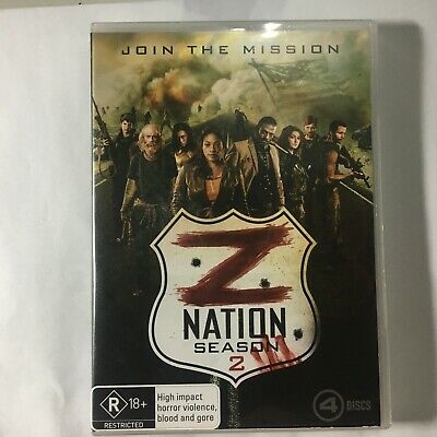 AU11.61 • Buy Z Nation - Season 2 - Dvd 4 Discs - Horror - R4 - Vgc