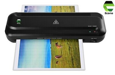 Econo A4 Heated Laminator Lamination Machine With Jam Release For Home Office • 17.99£