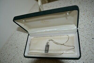 AU45 • Buy Unwanted Gift Sterling Silver Chain 925 With Star Sign  Leo  In Great Condition