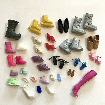 $ CDN14 • Buy Vintage Barbie Accessories Toys Smalls Plastic Mattel Shoes Boots Pairs Singles