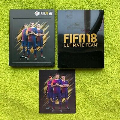 £17.46 • Buy PS3/PS4 - Fifa 18 Ultimate Team (Steelbook) With Magnet (without Game)