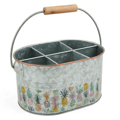 AU27 • Buy Pineapple Party Flatware Caddy Kitchen Cutlery/Utensils Holder Organiser Rack