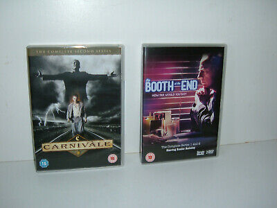 Booth At The End Complete + Carnivale Season 2 Box Sets - Watched Once • 7£
