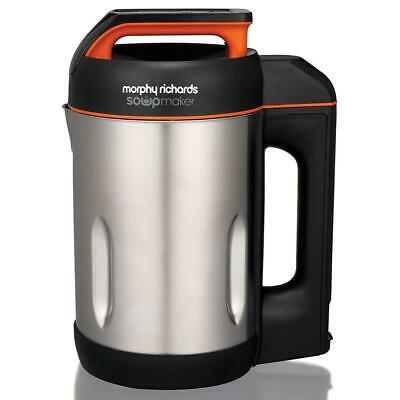 Morphy Richards Soup Maker With Keep Warm Function, Stainless Steel - 1.6 Litres • 66.32£