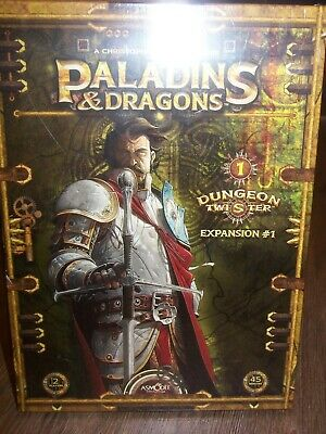 AU53.44 • Buy NEW/SEALED Paladins & Dragons Dungeon Twister Expansion #1 Asmodee Board Game