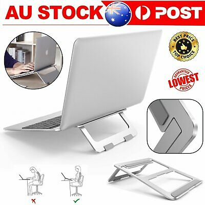 AU25.88 • Buy Laptop Stand Holder For 12-17 MacBook Pro&Air 13 15 Adjustable Cooling Pad Rack