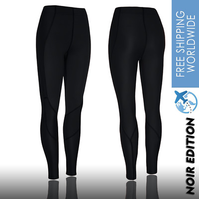 Women Compression Tights Running Pants Skins Sports A400 Gym Workout Recovery . • 33.32£