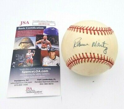 $ CDN45.29 • Buy Ramon Martinez MLB Los Angeles Dodgers Signed Autographed Rawlings Baseball COA