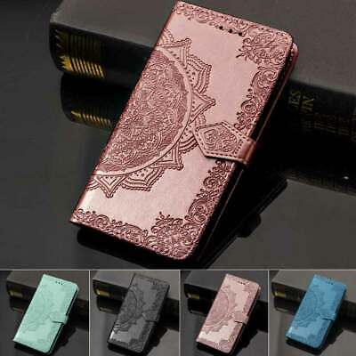 AU15.88 • Buy For IPhone 11 Pro Max XS XR 6S 7 8 Plus Patterned Leather Wallet Flip Case Cover
