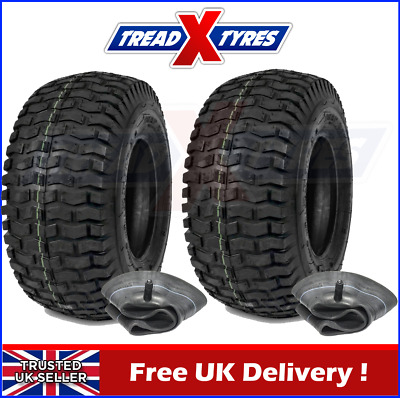 2x Lawn Mower 20x8.00-8 Tyres & Tubes Garden Tractor Golf Turf 20 800 8 Two • 79.99£