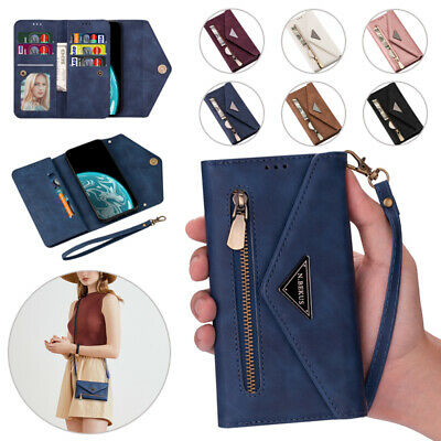$ CDN17.32 • Buy For Samsung Galaxy Note8/9/10+ Leather Wallet Pocket Case Card Zipper Flip Cover