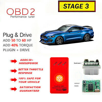 $43.73 • Buy Fits - Ford Mustang GT 4.6L 5.0L - Super Performance Chip Power Tuner Programmer