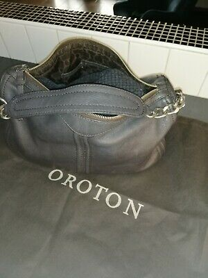 AU45 • Buy  Oroton Handbag Brown Leather