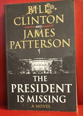 AU5.95 • Buy James Patterson & Bill Clinton The President Is Missing Thriller Paperback Book