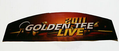 $24.95 • Buy Incredible Technologies 2011 Golden Tee Live Curved Top For Full Upright MARQUEE