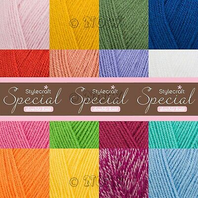 Stylecraft SPECIAL DK Double Knitting Premium Acrylic Crochet Yarn Wool 100g • 3.19£