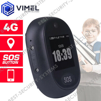 AU150 • Buy Professional 4G Real Time GPS Tracker Personal For Kids And Elderly SOS Button