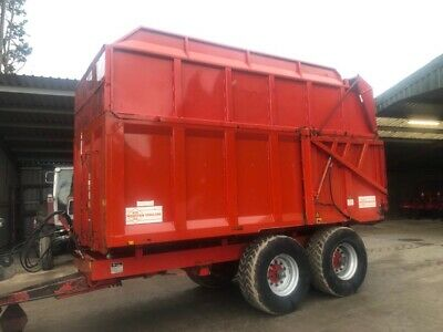 12 Ton Wootten Silage Trailers Choice Of 2 • 7,500£