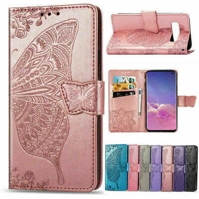 AU14.99 • Buy For Samsung S20 Note 20 Ultra S10 S9 S8 Leather Wallet Case Magnetic Flip Cover