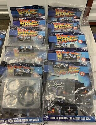 1:8 Scale Eaglemoss Back To The Future Build Your Own Lot Of 10 Issues 11-20 • 69.99£