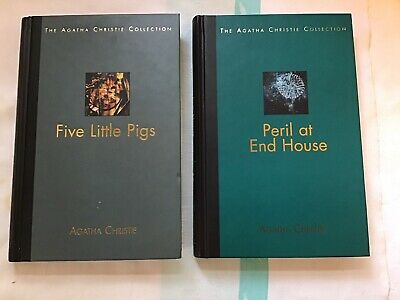 Peril At End House , Five Little Pigs , The Agatha Christie Collection. • 18.99£