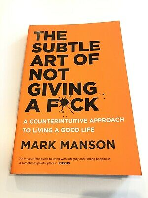 AU18.50 • Buy The Subtle Art Of Not Giving A F*ck: A Counterintuitive Approach To Living A...