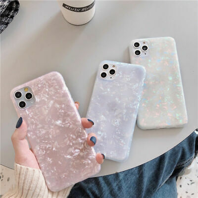 AU12.99 • Buy Case For IPhone 11 Pro MAX XR SE 8 7 Plus ShockProof Marble Phone Silicone Cover