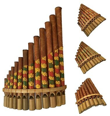 Panpipes Woodwind Wind Instruments Andean Traditional Music Kids Flute Band • 9.95£