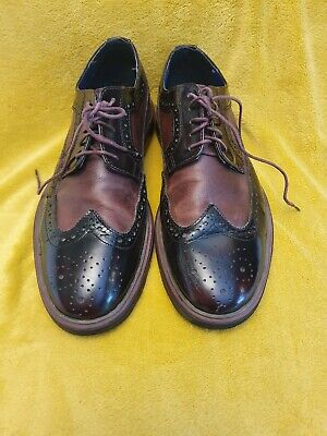 Two Tone Brogues Brown Size 10 • 18£