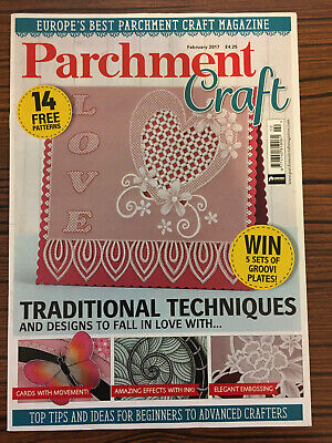 Parchment Craft Magazine. February 2017 • 2.99£