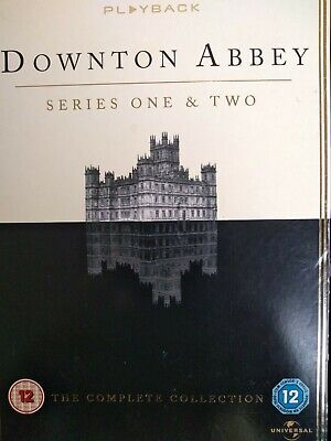 Downtown Abbey Series 1&2 ( 7 Disc)  FREE Shipping Very Good Condition Free Post • 6£