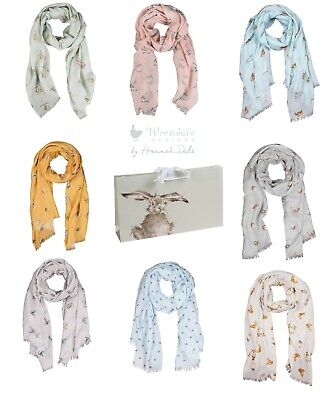 £17.99 • Buy Wrendale Designs Ladies Scarf With Free Gift Bag - Assorted Designs