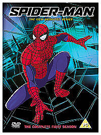 SPIDERMAN / SPIDER MAN - The Animated Cartoon Series DVD NEW • 9.99£