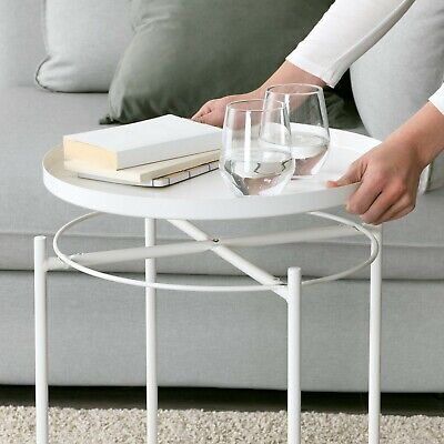AU49.90 • Buy NEW Ikea GLADOM Serving Tray Table Coffee Table Bedside Table Home Office Deck