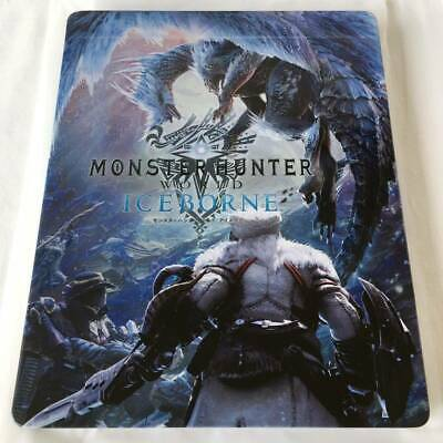 AU125.31 • Buy Ps4 Monster Hunter World Iceborn Steel Book Geo Limited Benefits