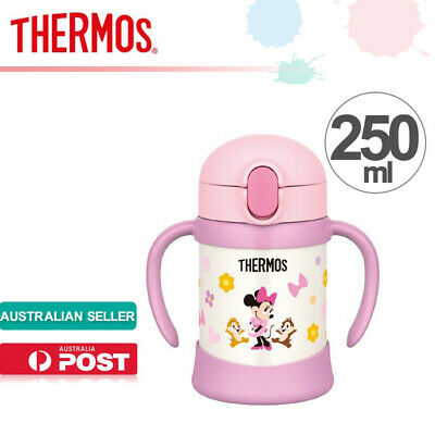 AU72.99 • Buy THERMOS FHV-250DS Vacuum Insulated Straw Mug For Baby Cooler Bottle Disney 250ml