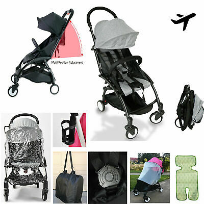 AU123.99 • Buy New 2020 Compact Lightweight Baby Stroller Pram Easy Fold Travel Carry On Plane