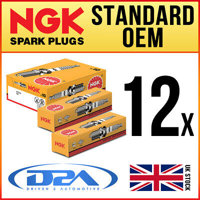 12x NGK BPR6ES 7822 Standard Spark Plugs *Wholesale Price SALE* • 24.39£