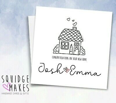 £2.84 • Buy Personalised New House Card * New Home Card * Moving House* First House New Home
