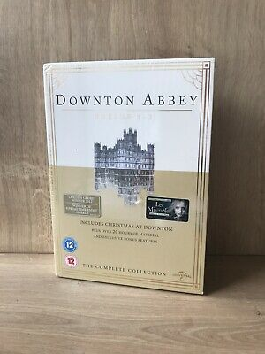 Downtown Abbey - The Complete Series 1-3 Collection - NEW SEALED DVD SET • 12£