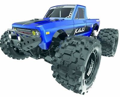 Redcat Racing Kaiju 1/8 Scale Brushless Electric Monster Truck Blue 6s Ready • 286.22£