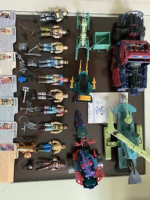 $ CDN880.36 • Buy Vintage GI Joe Dreadnok Lot Rare Almost Complete Figures Vehicle's Accessories.