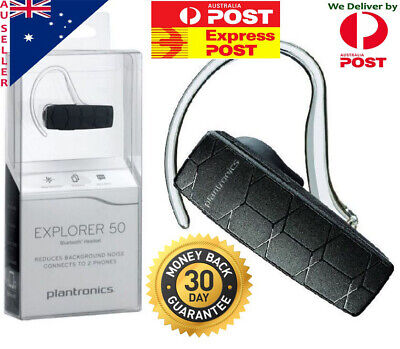 $ CDN67.05 • Buy Genuine Plantronics Explorer 50 Bluetooth Headset For Apple Iphone Samsung Galax