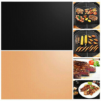 AU21.61 • Buy 1/2x BBQ Grill Magic Mat Non Stick Meat Barbecue Tool Camping Hiking Outdoor AU