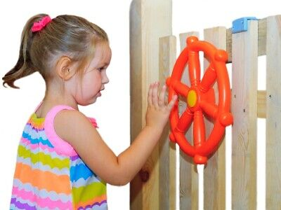Steering Plastic Wheel Toy For Pirate Boat Climbing Frame Playgrounds New!!! • 12.99£