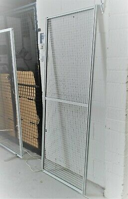 1943 X 747mm Framed Welded Wire Mesh Panel | 3mm Thick | Silver | Door, Fence • 147.61£